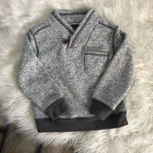 Osh Kosh Gray Sweater Dressy Sweater Christmas